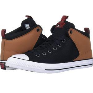 Converse chunk Taylor street high top sneaker. 8